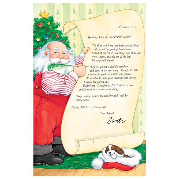 Personalized Santa's Nice List Certificate - View 1