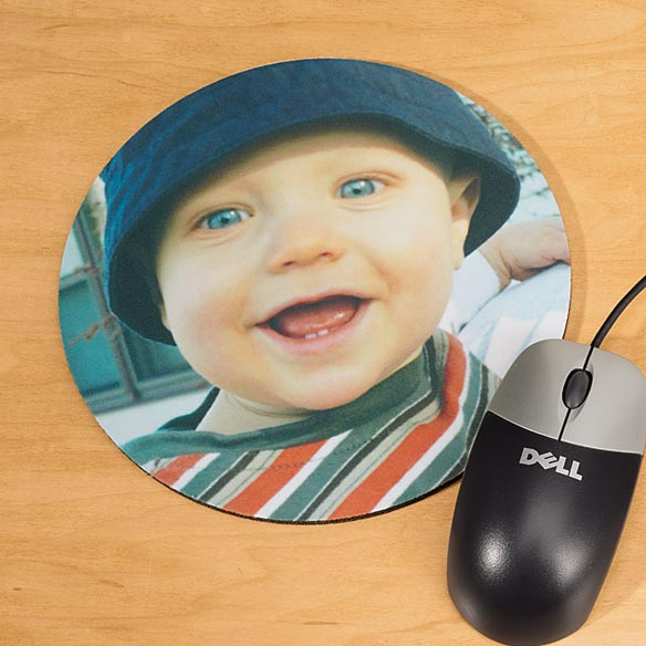 Photo Computer Mouse Pad-Round