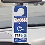 Bonus Buys - Handicap Placard Hanger
