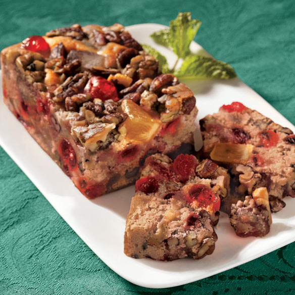 No-Sugar-Added and Classic Fruitcake