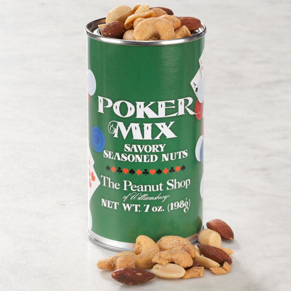 Poker Mix Seasoned Nuts