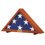 Collectibles & Display - Veterans Flag Display Case