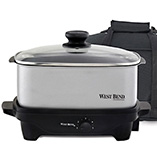 View All Web Exclusives - West Bend® Cook & Tote™ - Stainless