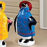 Raincoat Penguin Goose Outfits