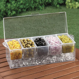 Patio & Grill - Chilled Condiment Caddy