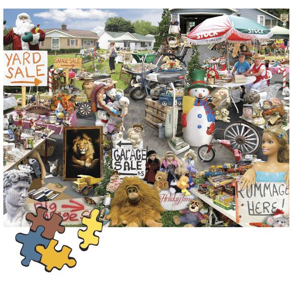 Yard Sale 1000 Piece Puzzle