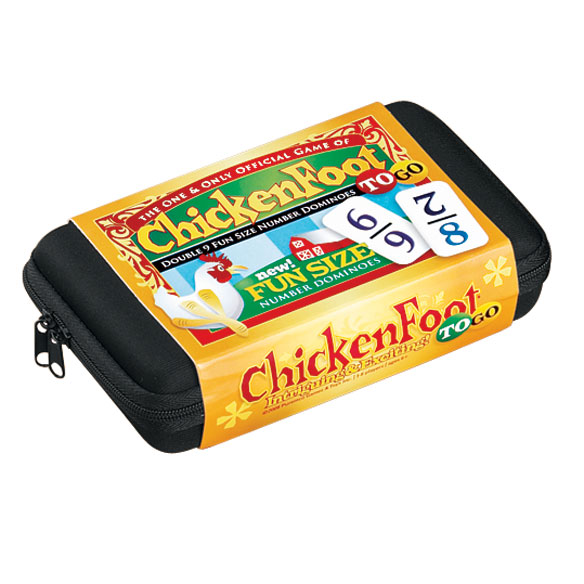 Chickenfoot Dominoes Travel Set
