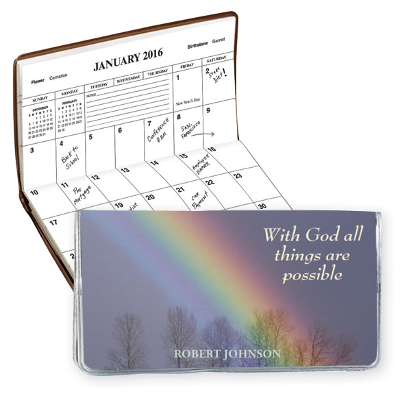 Christian 2 Year Personalized Planner