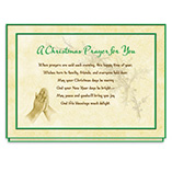 Christmas Prayer Card Set/20