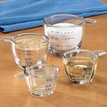 Baking - Glass Measuring Cup Set