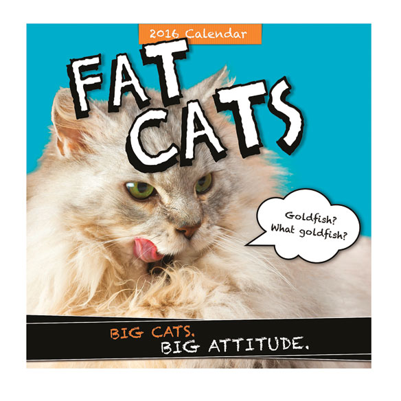 Fat Cats Calendar - View 1