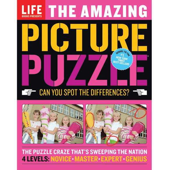 Life Amazing Picture Puzzle Book