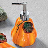 Pumpkin Dispenser and Soap Dish