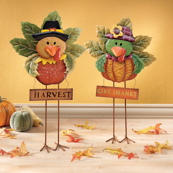 Turkey Stand-Up Decorations