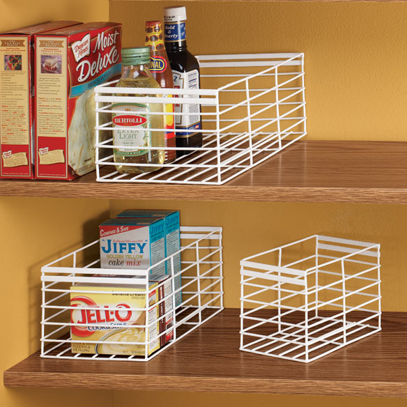 Pantry Storage Caddy Set - Set Of 3 - View 1