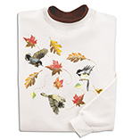 Swirling Leaves Sweatshirts