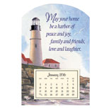 Home Office - Mini Magnetic Lighthouse Calendar
