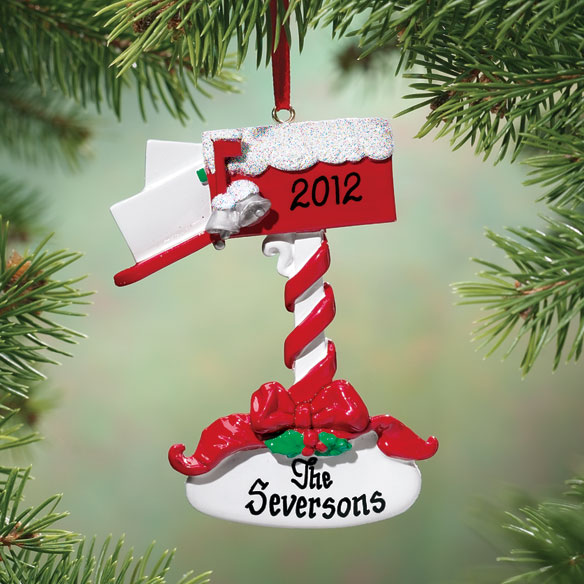 Personalized Mailbox Ornament
