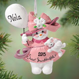 Ornaments - Personalized Granddaughter Ornament
