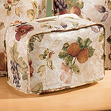 Kitchen - Antique Fruit Appliance Cover 2 Slice Toaster