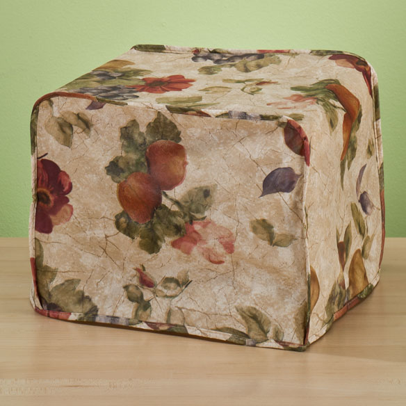 Antique Fruit Vinyl Appliance Cover 4 Slice Toaster