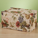 Kitchen - Antique Fruit Appliance Cover Toaster Oven