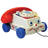 Nostalgic Toys - Fisher Price™ Chatter Telephone