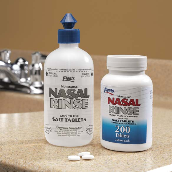 Nasal Rinse with Salt Tablets