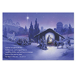 Nativity Christmas Post Card Set