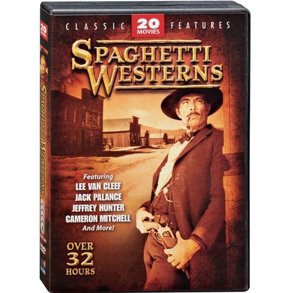 Spaghetti Westerns 20 Movie DVD Set