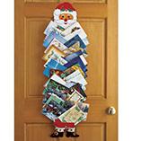 Home Décor - Santa Christmas Card Holder