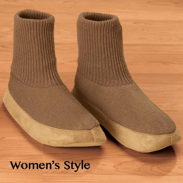 Womens Cardigan Slippers