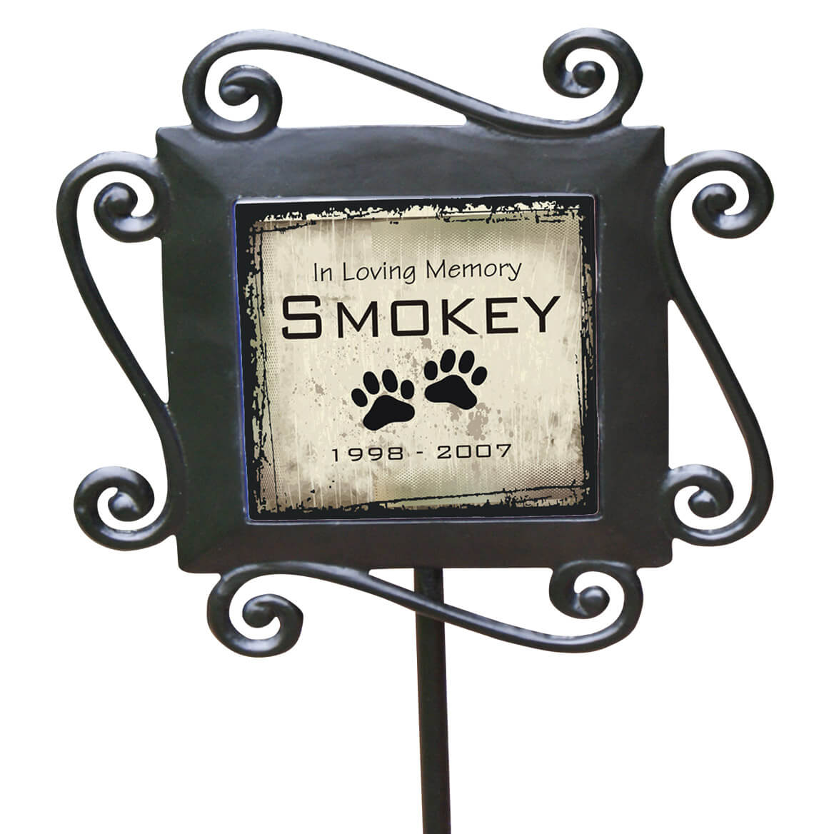 Personalized Pet Memorial Garden Stake