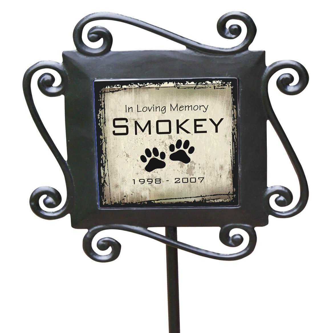 Personalized Pet Memorial Garden Stake