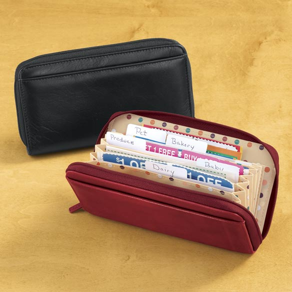 Buxton Coupon Organizer