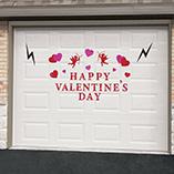 Valentines Day - Valentine's Day Garage Door Magnet Set