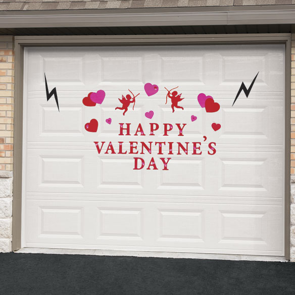 Valentine's Day Garage Door Magnet Set