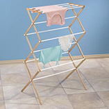 Laundry & Garment Care - Collapsible Laundry Rack