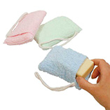 Beauty & Grooming Aids - Terry Cloth Soap Saver Bag