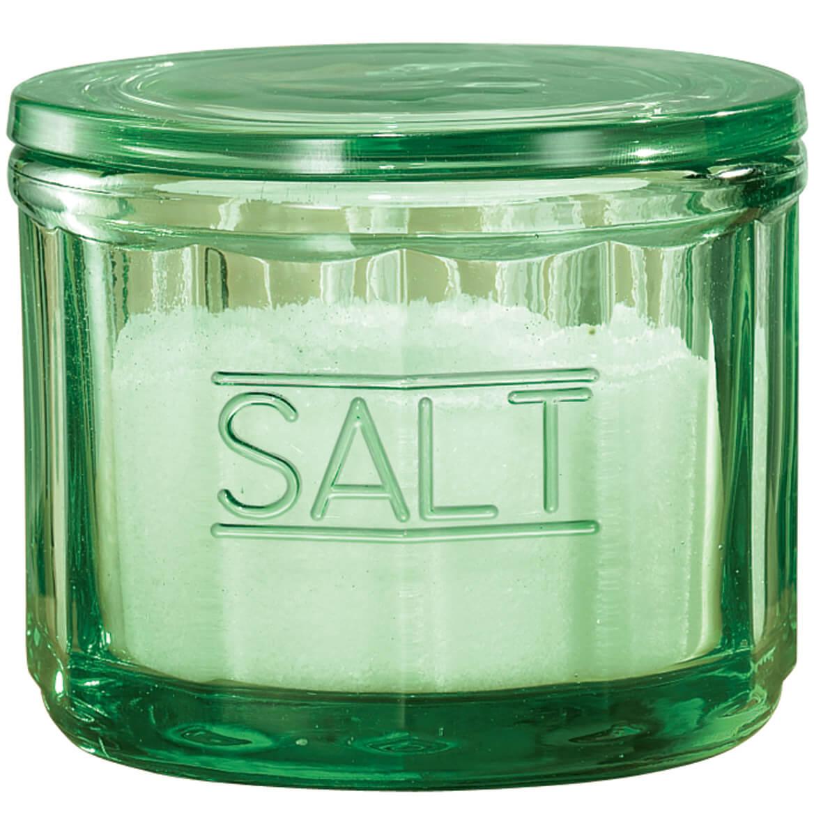 Classic Green Salt Cellar