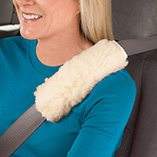 Auto - Sherpa Seat Belt Covers - Set Of 2