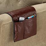 Storage & Organization - Leather Armchair Caddy