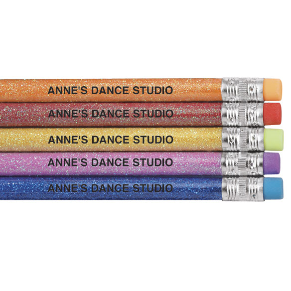 Glitter Pencils - Set of 12