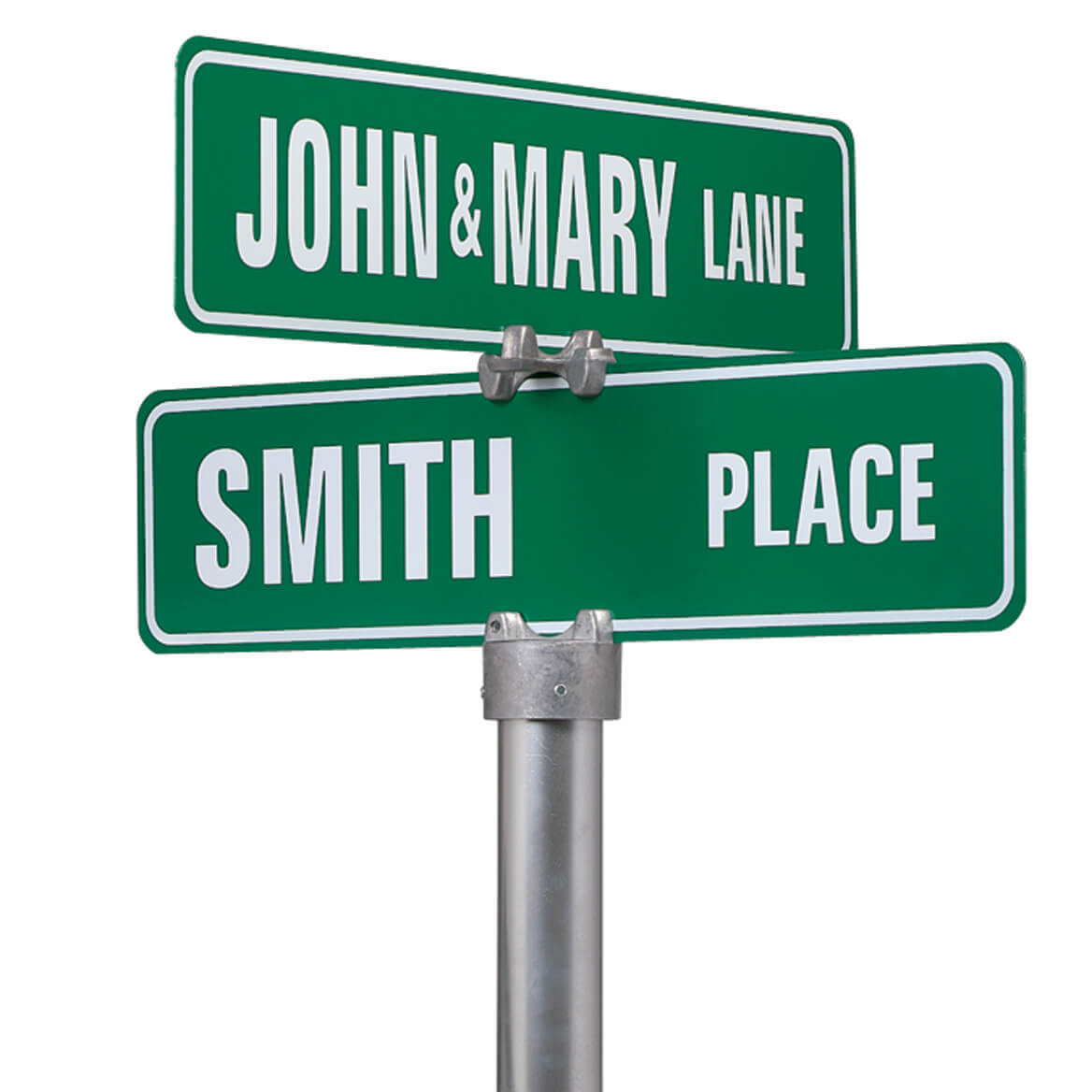 Personalized One Sided Street Sign - Custom Street Signs - Miles Kimball