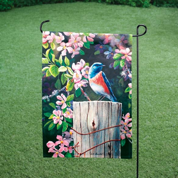 Orchard Bluebird Mini Banner & Mailbox Cover