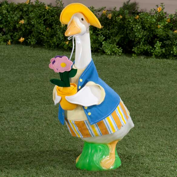 Female Gardener Goose Outfit - View 1