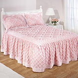 View All Bedding & Pillows - Melody Chenille Bedspread