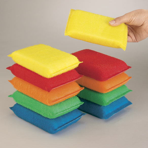 Fiber Sponges Set of 10