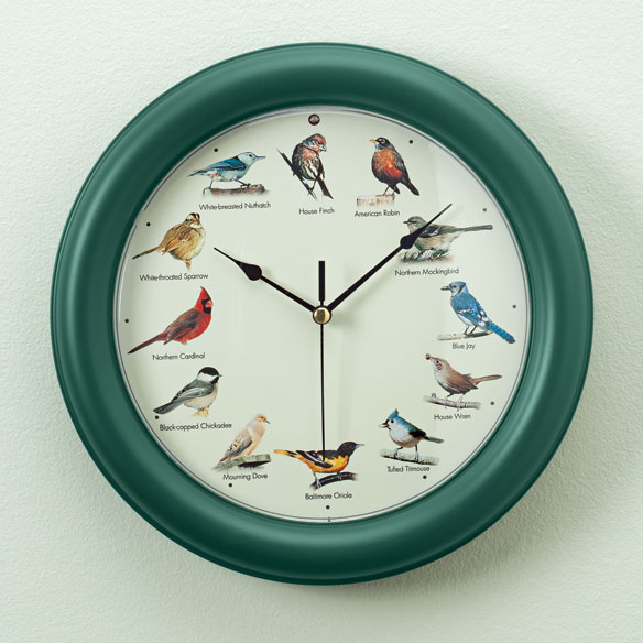 Audubon ™ Singing Bird Clock
