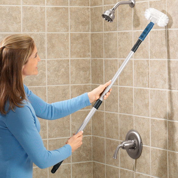 Long Handled Telescopic Tub & Tile Scrubber